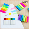 Promotion Recycle Sticky notepad plastic creative stationery custom PET page marker