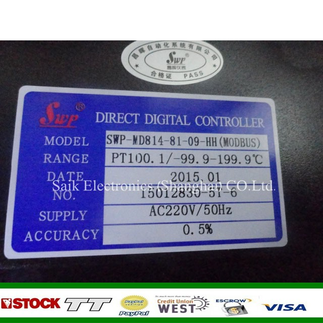 Hot offer for Temperature Controller SWP-MD814-81-09-HH