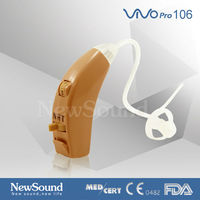 Hot Product Quality Analog Hearing Aid Behind The Ear Personal Sound Amplifier