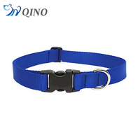 QN-A-5105 abrasion resistant blue waterproof pvc pet dog collar