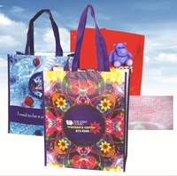 Customized Non woven fabric Lamination printing non-woven bag(printed with cartoon pattern)