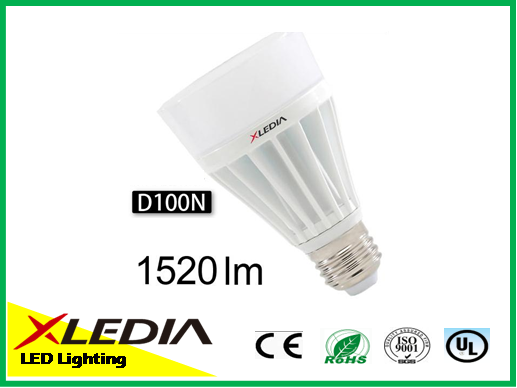 Energy saving XLEDIA e27 1500 lumen led bulb light