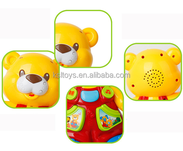 DIY animal recording toy with music and talking story for kids