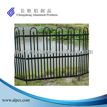 Aluminum Mid Panel Of Garden Fence