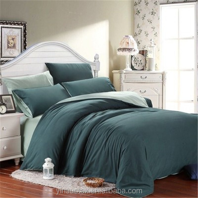 100% polyester 55-130-gsm solid color home choice bedding/duvet cover