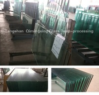 10mm building material of toughened glass for balcony railling