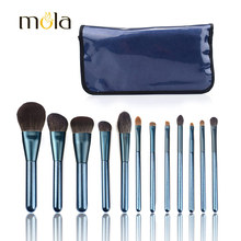 Alibaba best sellers high quality vegan glitter handle makeup brushes private label beauty products for women