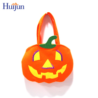 Happy Tooth Pumpkin Face Halloween Tote Bag Jack O