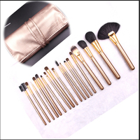 New Products 2016 Makeup Brush Set 18pcs High Quality Cosmetic Brush