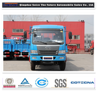 Faw J5K Chinese mini truck /lorry truck with 4.75L diesel engine