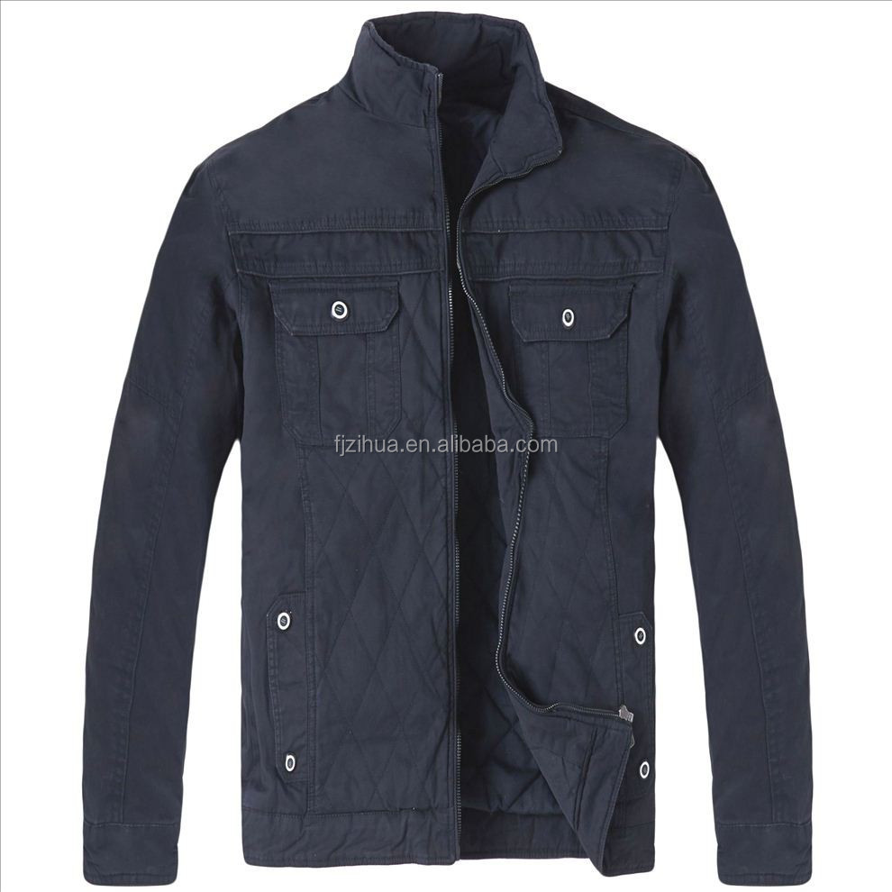 High quality factory man quilted clothes