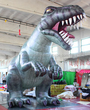 5M giant inflatable dinosaur,inflatable cartoon,inflatable model