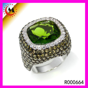 925 SILVER RHODIUM PLATED JEWELRY SILVER RING WITH RUBY FOR MEN