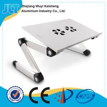 Laptop cooling stand factory Adjustable Vented Laptop Table Laptop Computer Desk Portable Bed table