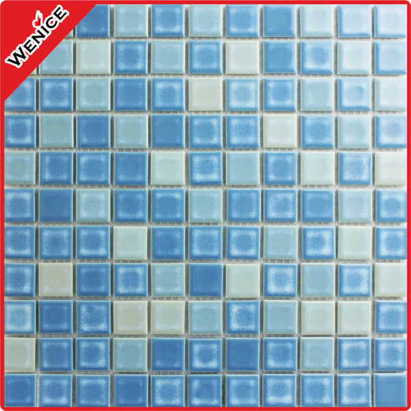 Stock glazed porcelain bathroom tile for bathroom wall tile25X25