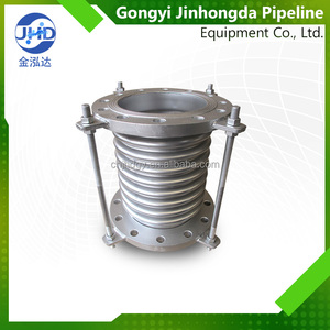 Factory sale corrugated metal stainless steel bellows pipe expansion joint