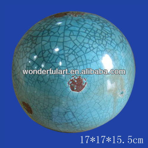 hot selling ceramic decorative garden balls
