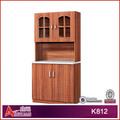 modular kitchen cabinet color combination from lecong Foshan China