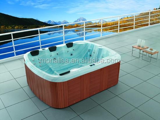 monalisa outdoor whirlpool bathtub portable walk in bathtub m 3328 buy bathtub hot tub plastic. Black Bedroom Furniture Sets. Home Design Ideas