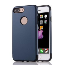 2 in 1 Shield Hybrid Dual Layer TPU + PC Shock Proof Cell Phone Case Cover for iphone 7 4.7