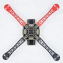 ZMR rack para KK MK MWC PCB Board chassis to assemble White red black Nylon+Fiber Arm FPV UAV RC drone frame kit F450 Quadcopter