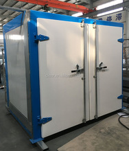 Electric electrostatic powder coating oven for car mag wheel