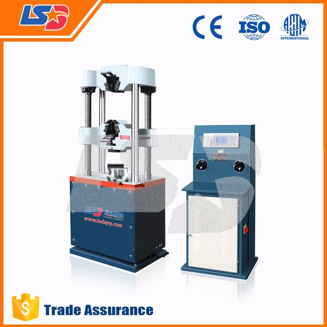 LSD WE-1000B Digital Display Hydraulic Universal Testing Machine