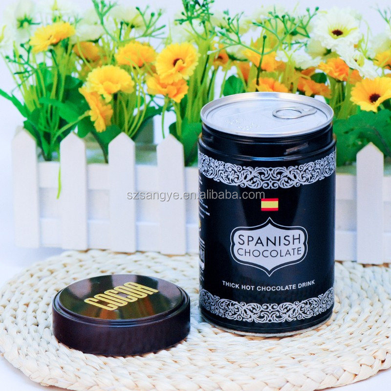 Custom Printed Metal Screw Coffee Tin Can