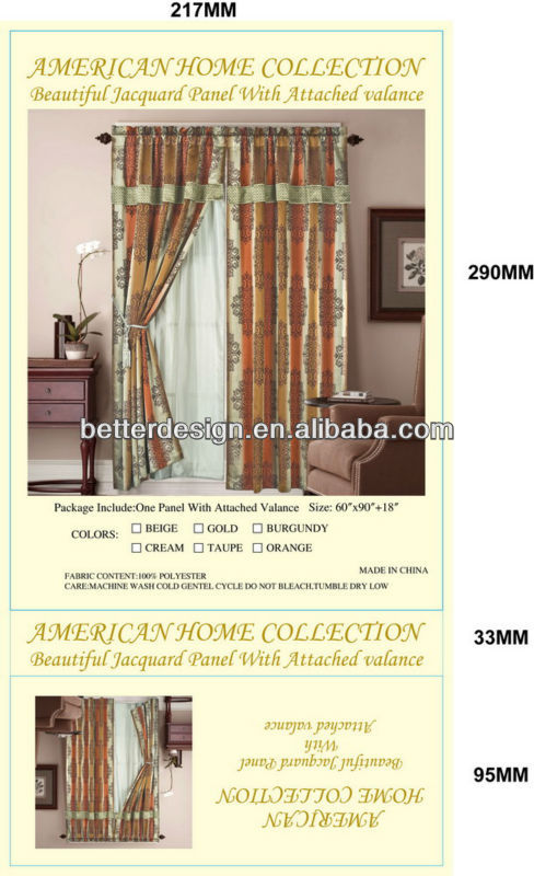 STOCK WINDOW CURTAIN