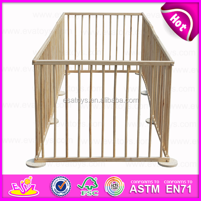 2016 New fashion wooden pet playpen,high quality wooden pet playpen,best slae pet playpen W08H006