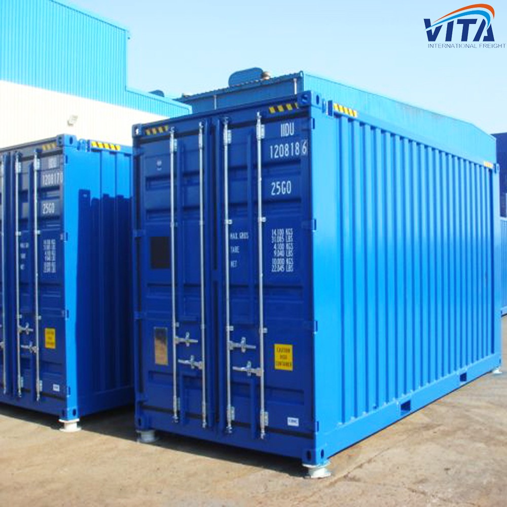 Second hand shipping container size and price for sale