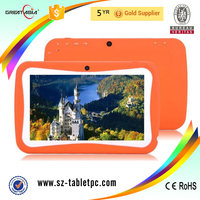 New design Digital Quad-core kids smart tablet pc 7inch Androiud 5.1 tablet