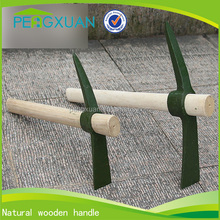 China Manufacturer wholesale natural wooden tool handles for pickaxe