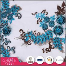 Manufacturer factory OEM accept popular 3d lace fabric african