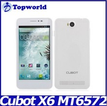 Cubot P6 MTK6572 cheap smart phone1.3GHz Dual Core Android 4.2 5.0'' Smart Phone