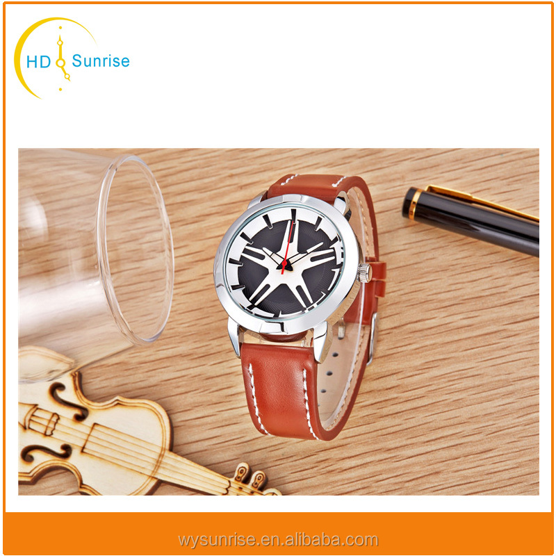 china watch factory simple style vintage fashion japan movement pc21 quartz rohs watch men women
