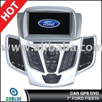 7 inch car dvd player speical for FORD FIESTA with high resolution digital touch screen,gps,bluetooth,TV,radio,ipod