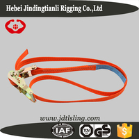 Length 1 to 50 meters ratchet custom tie down straps