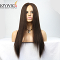 Best factory 10A grade 2# Color silk straight Indian Human Hair full lace Wig