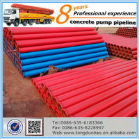 High pressure concrete pump parts concrete boom pipe