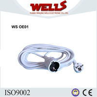 Power Cable Cord With 16A Schuko Plug For Europe Market