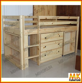Function loft bed view loft bed mk product details from for Soppalco ikea legno