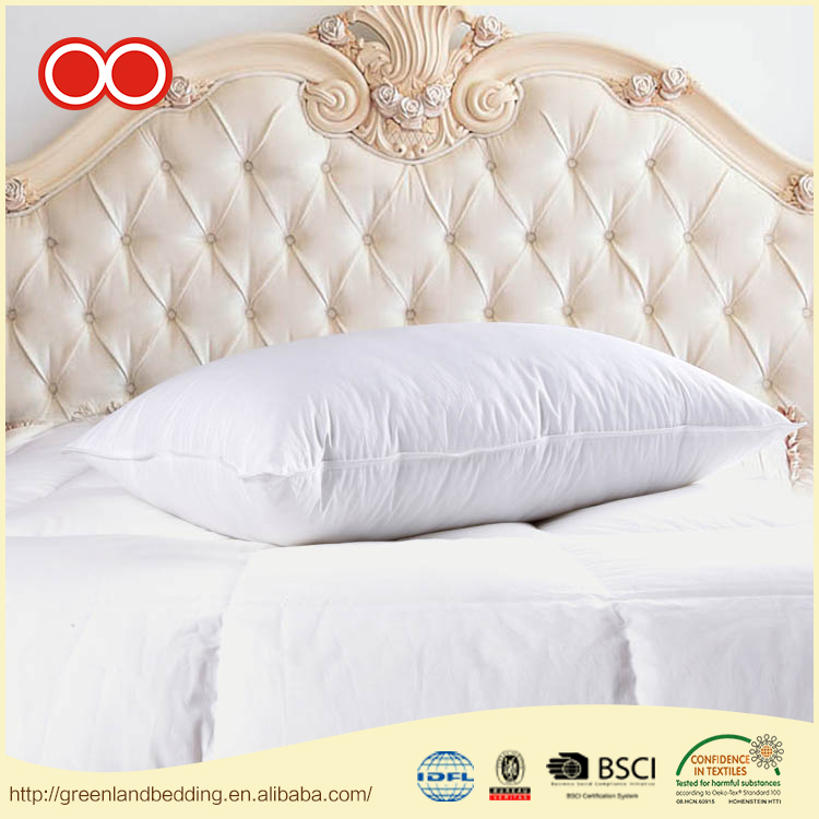 Wholesale Products Health Anti-Static Decorative White Goose Feather Insert Life Pillow for Hotel