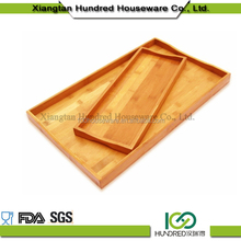High Quality Food Serving Bamboo Wooden Tray