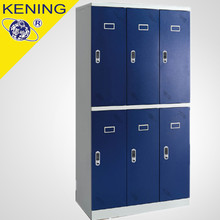 Modern style school storage metal uniform lockers