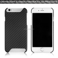 100% real Carbon fiber mobile phone case/mobile phone shell/cell phone case cover for 6/6 Plus/6s/6s Plus
