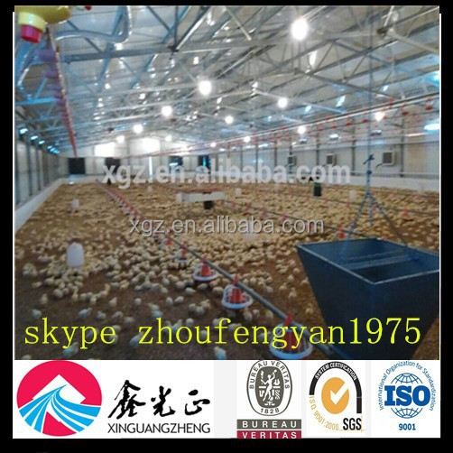 chicken cage poultry closed system