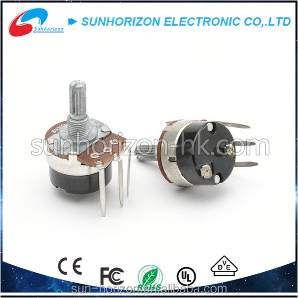 wholesale big size b5000 rotary potentiometer with switch for lighting