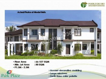 Houses for Sale in Pampanga Pueblo de Oro - Rent to Own near SM Pampanga