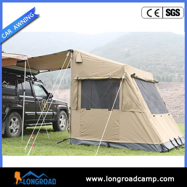 Best Selling Rooftop Tent Car Camping Tent With Awning